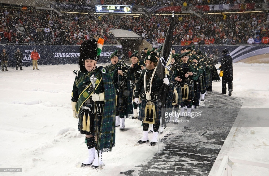 (EDITORIAL USE ONLY) during the 2014 NHL Stadium Series game at Soldier Field on March 1, 2014 in Chicago, Illinois.