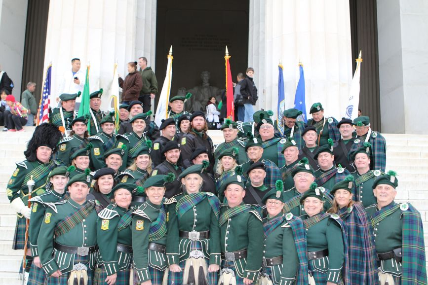 Band grop pic Lincoln Memorial 3